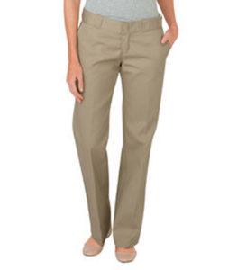 Pantalón para Uniforme de Dama sin pinzas